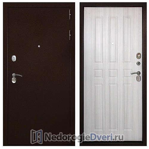 Входная дверь Дверной континент Гарант-100 3К Беленый дуб
