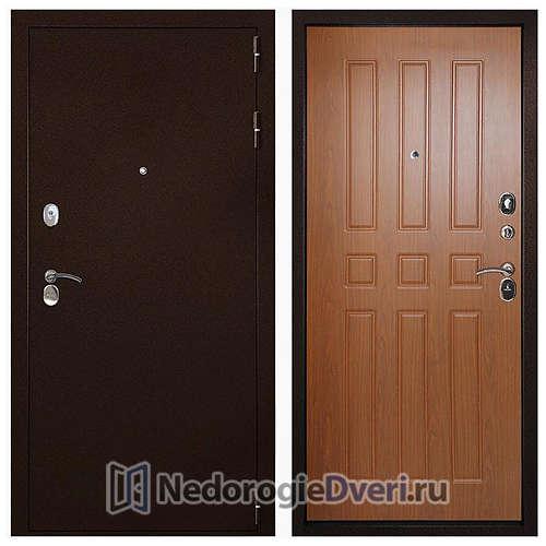 Входная дверь Дверной континент Гарант-100 3К Орех