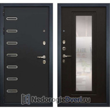 Металлическая дверь Лекс Витязь (№22 Венге с зеркалом)