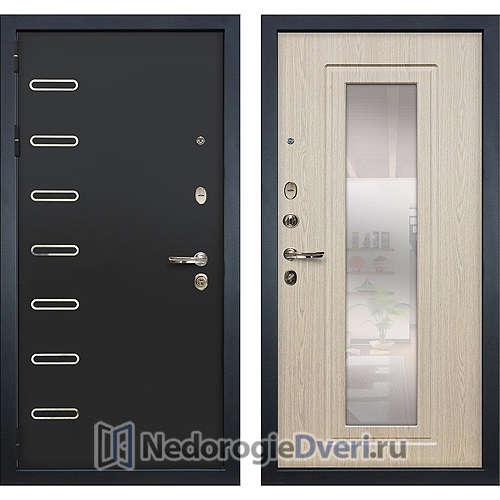 Входная дверь Лекс Витязь (№23 Беленый дуб с зеркалом)