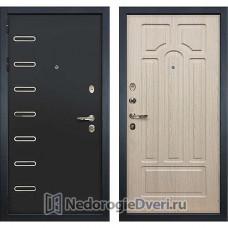 Металлическая дверь Лекс Витязь (№25 Беленый дуб)