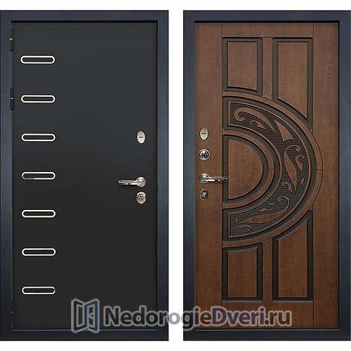 Входная дверь Лекс Витязь (№27 Golden патина черная)