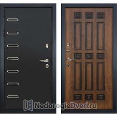 Металлическая дверь Лекс Витязь (№33 Golden патина черная)