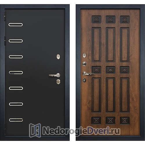Входная дверь Лекс Витязь (№33 Golden патина черная)