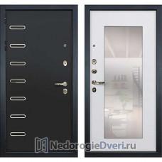 Металлическая дверь Лекс Витязь (№37 Белый ясень с зеркалом)
