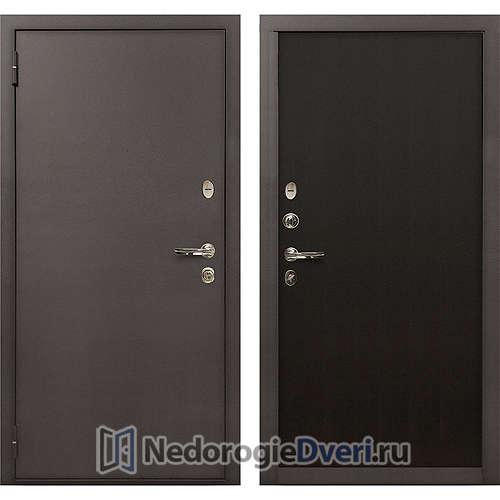 Входная дверь Лекс 1А Медный Антик (№2 Венге)