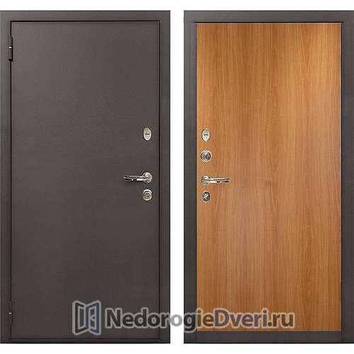 Входная дверь Лекс 1А Медный Антик (№4 Миланский орех)