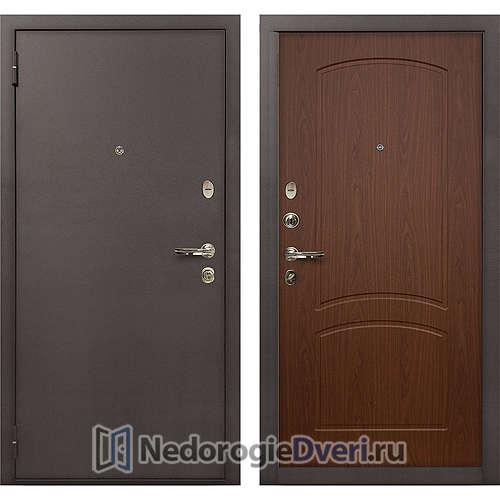 Входная дверь Лекс 1А Медный Антик (№11 Береза мореная)