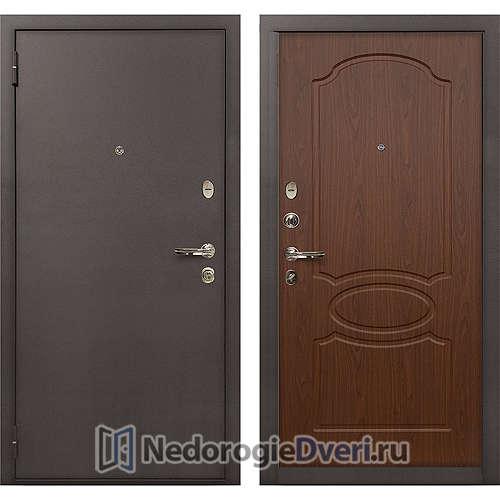 Входная дверь Лекс 1А Медный Антик (№12 Береза мореная)