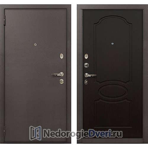 Входная дверь Лекс 1А Медный Антик (№13 Венге)