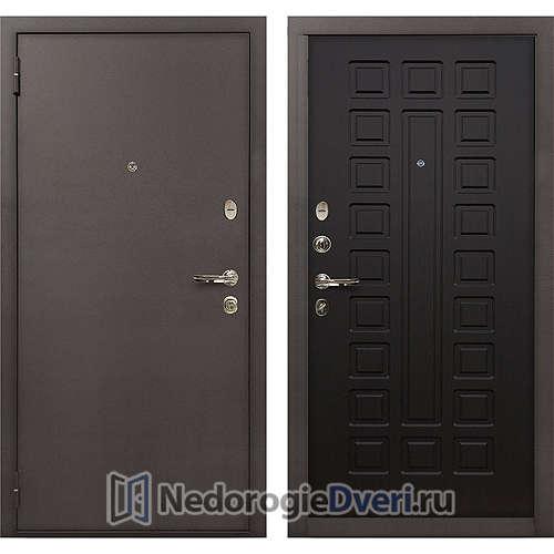 Входная дверь Лекс 1А Медный Антик (№21 Венге)