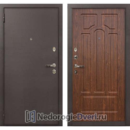 Входная дверь Лекс 1А Медный Антик (№26 Береза мореная)
