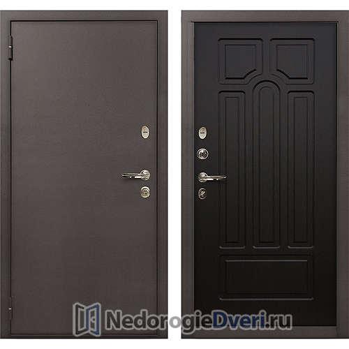 Входная дверь Лекс 1А Медный Антик (№32 Венге)