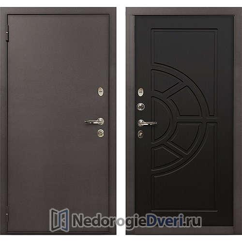 Входная дверь Лекс 1А Медный Антик (№43 Венге)