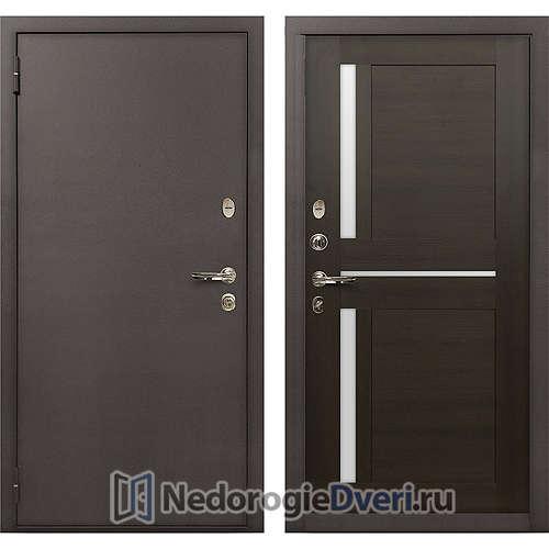Входная дверь Лекс 1А Медный Антик (№50 Венге)