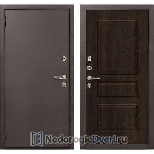 Входная дверь Лекс 1А Медный Антик (№60 Almon 28)