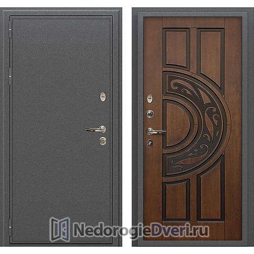 Входная дверь Лекс Колизей (№27 Golden патина чёрная)