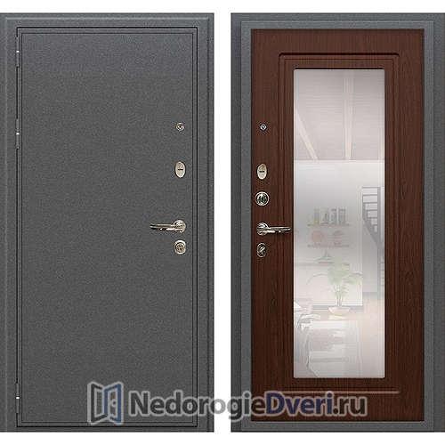 Входная дверь Лекс Колизей (№30 Береза мореная с зеркалом)