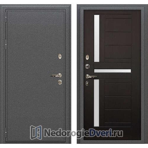 Входная дверь Лекс Колизей (№35 Венге с матовым стеклом)