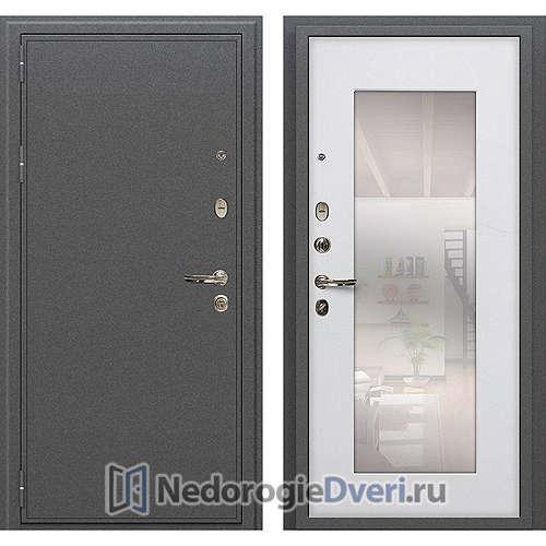 Входная дверь Лекс Колизей (№37 Белый ясень с зеркалом)