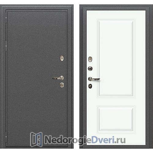 Входная дверь Лекс Колизей (№55 Эмаль белая)