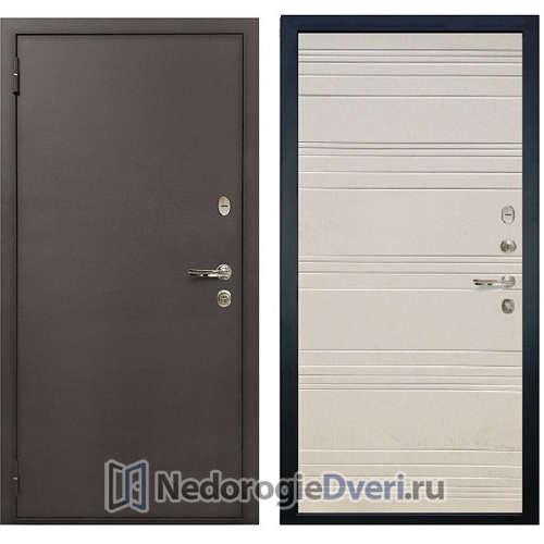 Входная дверь Лекс 1А Медный Антик (№63 Дуб фактурный)