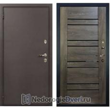 МЕТАЛЛИЧЕСКАЯ ДВЕРЬ ЛЕКС 1А АНТИК №64 ТЕРРА
