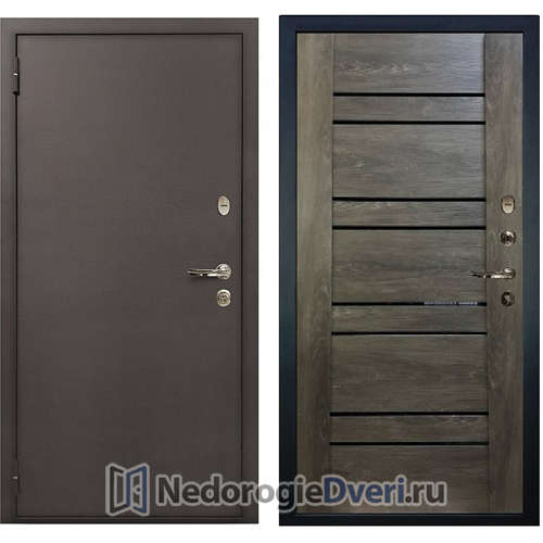 Входная дверь Лекс 1А Медный Антик (№64 Терра)