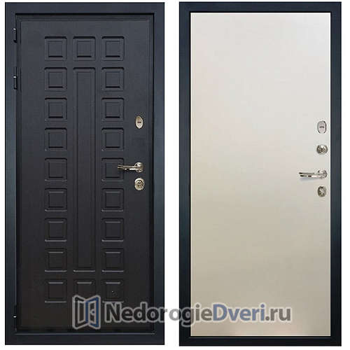 Входная дверь Лекс Гладиатор 3К (№62 Белый ясень)