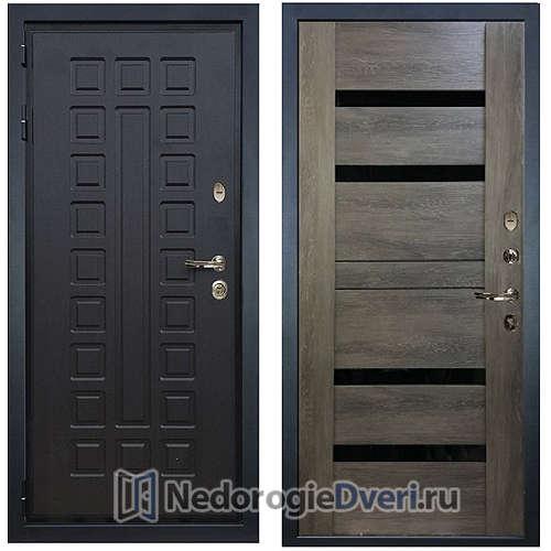Входная дверь Лекс Гладиатор 3К (№65 Неро)