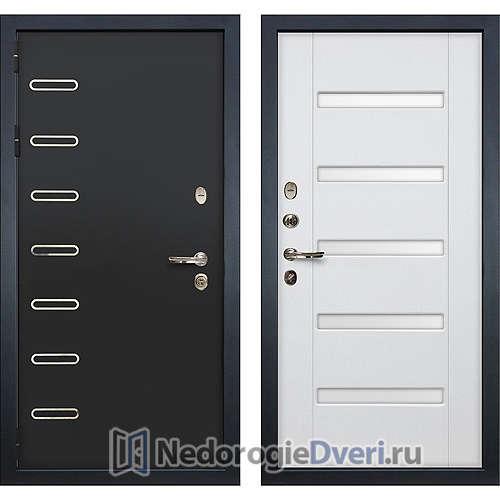 Входная дверь Лекс Витязь (№34 Белый ясень с матовым стеклом)