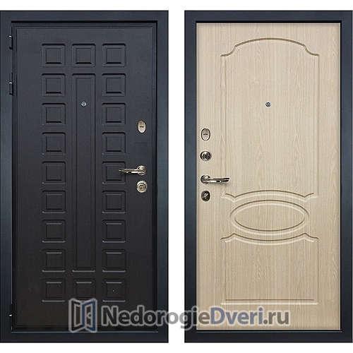 Входная дверь Лекс Гладиатор 3К (№14 Беленый дуб)
