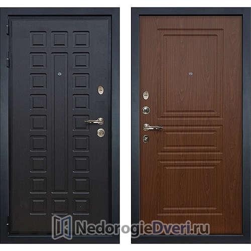 Входная дверь Лекс Гладиатор 3К (№19 Береза мореная)