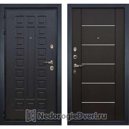 Входная дверь Лекс Гладиатор 3К (№24 Венге с молдингом)