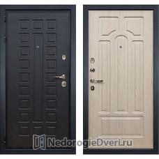Металлическая дверь Лекс Гладиатор 3К (№25 Беленый дуб)