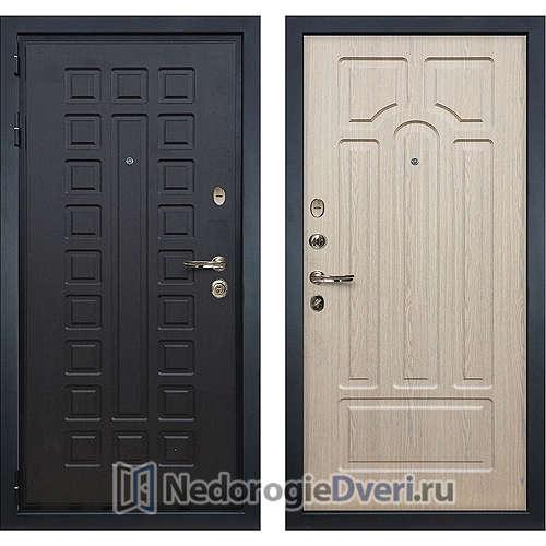 Входная дверь Лекс Гладиатор 3К (№25 Беленый дуб)