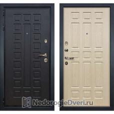 Металлическая дверь Лекс Гладиатор 3К (№28 Беленый дуб)