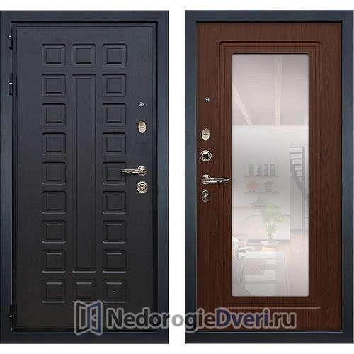 Входная дверь Лекс Гладиатор 3К (№30 Береза с зеркалом)