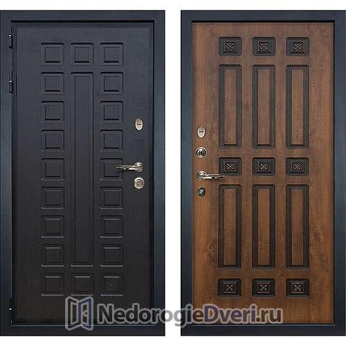 Входная дверь Лекс Гладиатор 3К (№33 Golden патина черная)