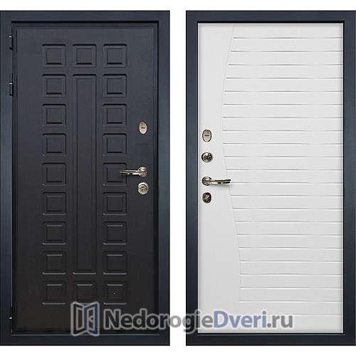 Входная дверь Лекс Гладиатор 3К (№36 Белый Ясень)