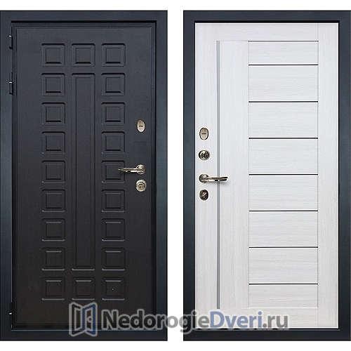 Входная дверь Лекс Гладиатор 3К (№38 Белёный дуб)