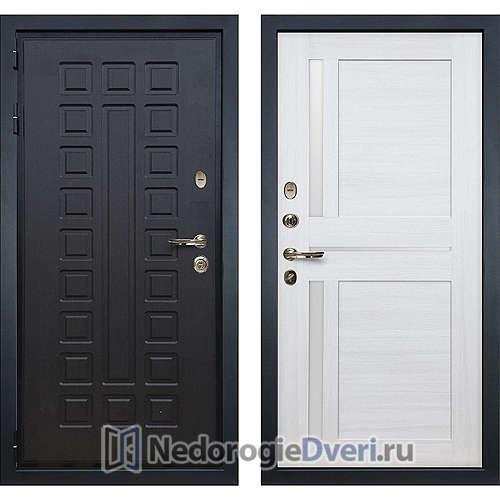 Входная дверь Лекс Гладиатор 3К (№47 Беленый дуб)