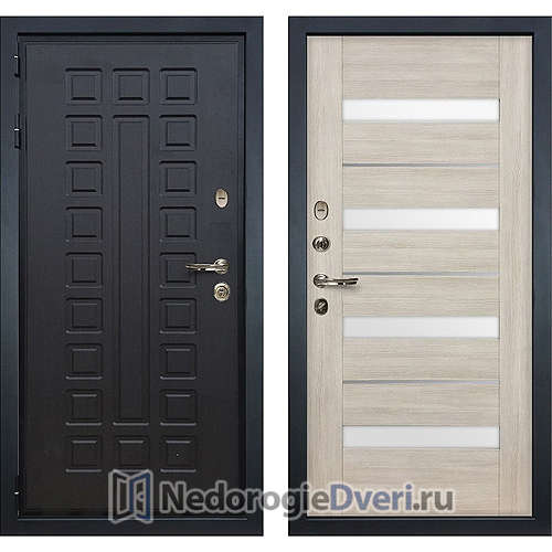 Входная дверь Лекс Гладиатор 3К (№48 Ясень кремовый)