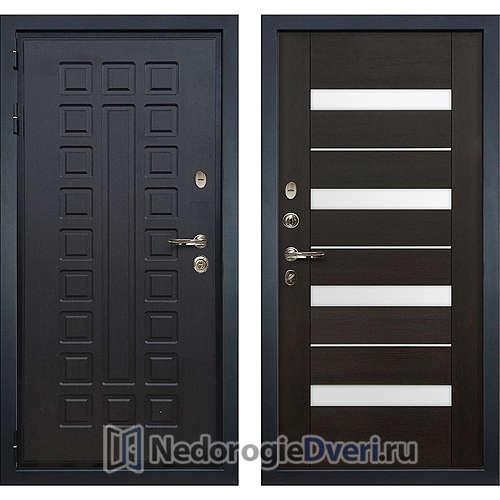 Входная дверь Лекс Гладиатор 3К (№51 Венге)