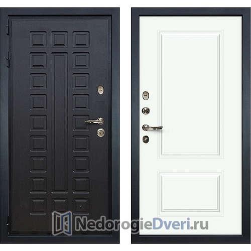 Входная дверь Лекс Гладиатор 3К (№55 Эмаль белая)