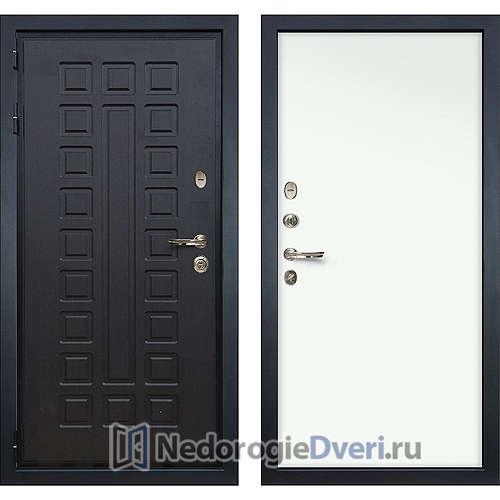 Входная дверь Лекс Гладиатор 3К (№59 Гладкая Винорит белый)