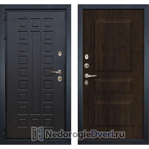 Входная дверь Лекс Гладиатор 3К (№60 Almon 28 Винорит)