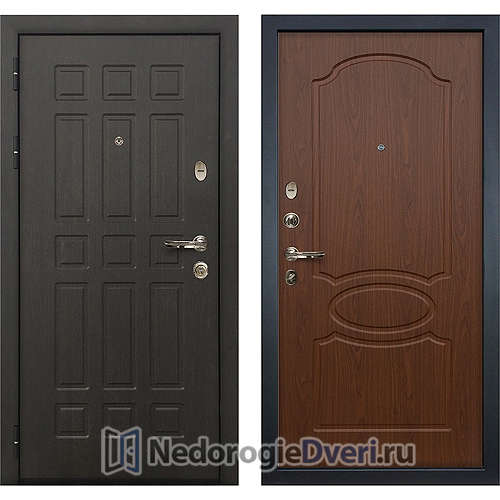 Входная дверь Лекс Сенатор (№12 Береза мореная)