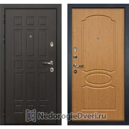 Входная дверь Лекс Сенатор (№15 Дуб натуральный)