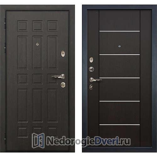 Входная дверь Лекс Сенатор (№24 Венге с молдингом)